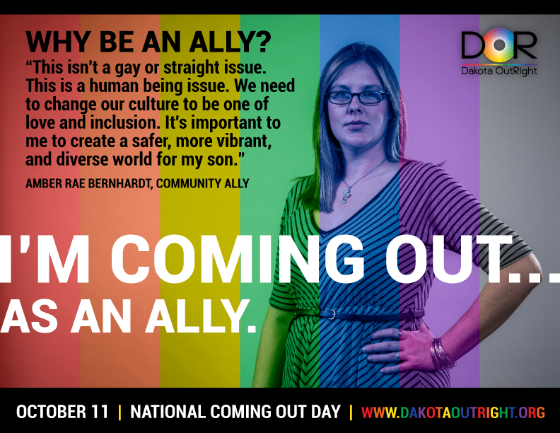 National Coming Out Day – October 11, 2014 | Dakota OutRight