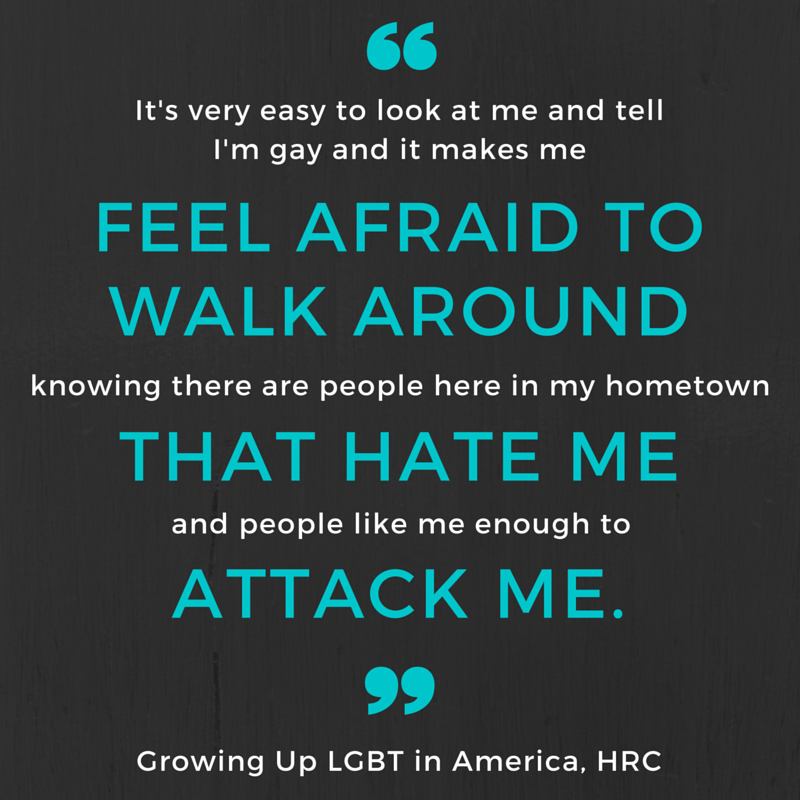 Growing up LGBT in America report quote 2