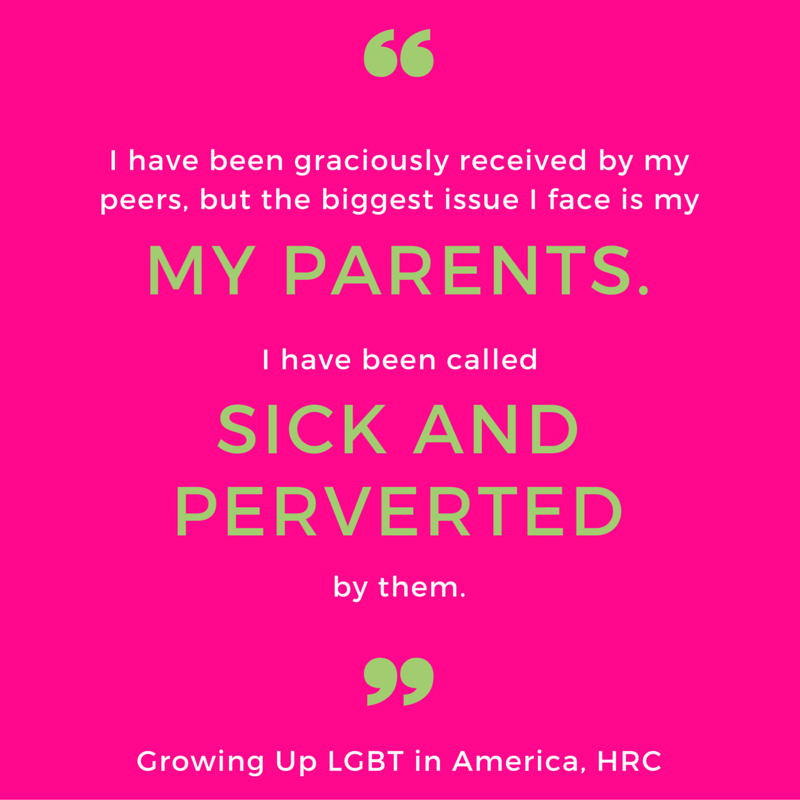 Growing up LGBT in America report quote 3
