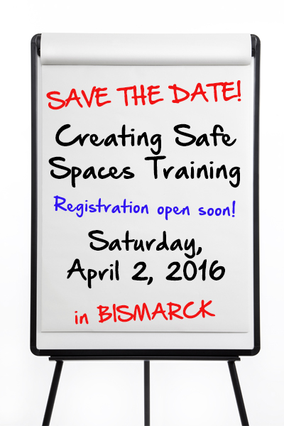 Save the Date for our upcoming training!